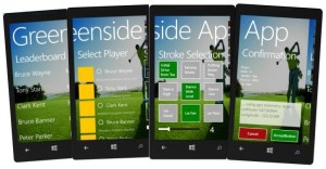 greenside scoring app